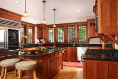 Bethesda Bungalows Kitchens. LOVE THIS! the color of the cabinets are perfect! and the windows are awesome!