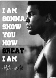 Quotes by Muhammad Ali. Muhammad Ali, a great boxer, an aspirational activist and an aspiring philanthropist, has motivated the people with his sayings and quotes for quite a long time. Motivacional Quotes, Sport Quotes, Great Quotes, Quotes To Live By, Inspirational Quotes, Motivational Sports Quotes, Famous Sports Quotes, Famous Athlete Quotes, Sports Sayings