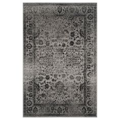 Shop Safavieh  ADR109B Adirondack Grey and Black Area Rug at Lowe's Canada. Find our selection of area rugs at the lowest price guaranteed with price match + 10% off.