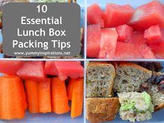 10 Gluten-Free Lunch Box Ideas
