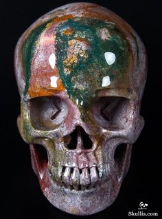 Crystal Magic, Crystal Skull, Crystals And Gemstones, Stones And Crystals, Vanitas Vanitatum, Rock Sculpture, Indian Agate, Human Skull, Skull Design