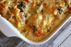Vegetable and Chicken Pasta Bake | AllFreeCasseroleRecipes.com
