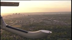 Nice view of #STLouis from SkyFOX helicopter