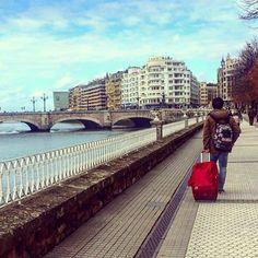 Paseo de Francia. San Sebastián. www.pensiongrosen.com