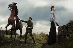 Noric Military  photography: David Sims, styling: Grace Coddington