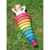 Grimm's - Rainbow Elements Stacker Large #EntropyWishList #PinToWin I've always had my eye on these!
