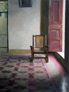 Floors, doors, and more. Painting by Kenny harris