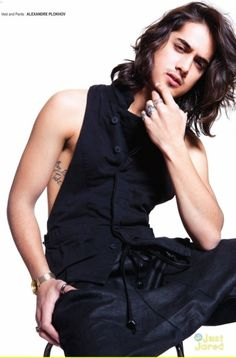 Avan Jogia as Cary in crossfire series