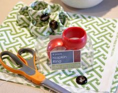 Sweet Something Designs: DIY Napkin Rings (2 Kinds!)