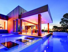 Sleek swimming pool from Design Unity