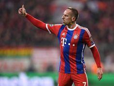 Ribéry no se ve con otra camiseta que no sea la del Bayern.