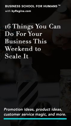 Want 20 clever ideas of weekend adventures you can embark on to streamline and scale your business? This is the article for you.