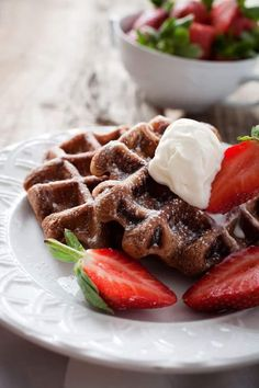best chocolate waffles. Try the BEST Chocolate Waffles recipe for an easy breakfast your family will love. Chocolate lovers will adore this breakfast idea. Homemade waffle recipes don't have to be hard to make. You can do whip up a fast breakfast of Chocolate Waffles in no time.
