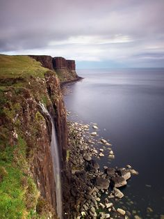Kilt Rock Waterfall - Isle of Skye, Scotland