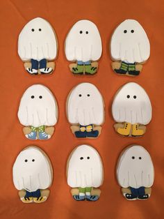 Trick or treater cookies with the Wilton Easter chick cookie cutter