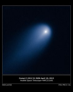 Astronomers are excited about a sungrazing comet discovered late in 2012. For a short time, it might become as bright as a full moon. That'll be around the time of its perihelion – or closest approach to the sun – on November 28, 2013.