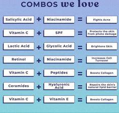 Glycolic Acid, Salicylic Acid, Vitamin A Acne, Beauty Tutorials, Skin Brightening, Collagen, Skin Care, Instagram, Collages