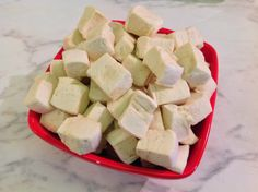 Real Deal Marshmallows from An Organic Wife. Gluten/grain-free. No corn syrup! Naturally sweetened.