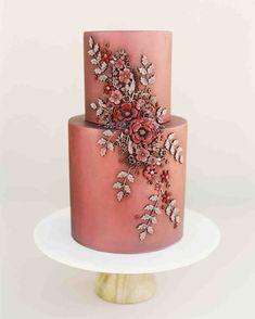 60 Fall Wedding Cake