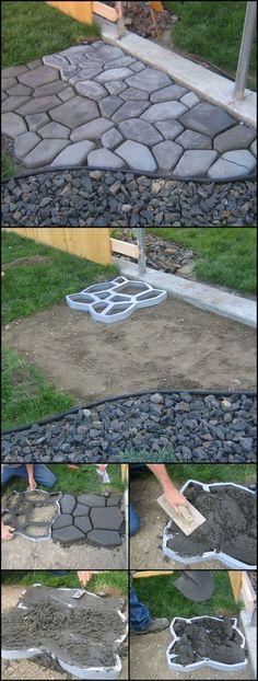 decoraçao jardim pedras 3