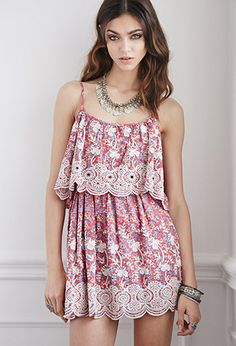 Raga LA Embroidered Layered Dress | FOREVER21 | #thespringcollection