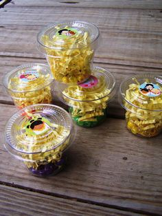BEAD CUP KIT Summer Camp Birthday Party Girls Kids Sleepover Slumber Party Necklace Bead Craft