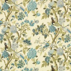 Pattern #42345 - 54 | Cressbrook Print Collection | Duralee Fabric by Duralee