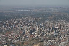 Page Aerial Photographs of Cities Cityscapes and Skyline Photos Johannesburg Africa, Paises Da Africa, Skyline Image, South African Art, City Pages, Aerial View, City Photo, Dolores Park, Scenery