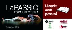 Avui iniciem la setmana de La Passió a la Biblioteca d'Esparreguera. Si veniu a la biblioteca us donarem uns vals de descompte per anar a veure l'espectacle!