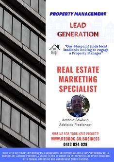 Find landlords looking to engage a property manager Property Real Estate, Lead Generation, Property Management, Being A Landlord, Real Estate Marketing, Anxious, 30 Years, Confident