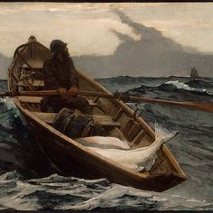 """""""""""When you paint, try to put down exactly what you see. Whatever else... will come out anyway."""" - Winslow Homer #ArtQuotes"""" Photo taken by @mfaboston on Instagram, pinned via the InstaPin iOS App! http://www.instapinapp.com (08/16/2015)"""