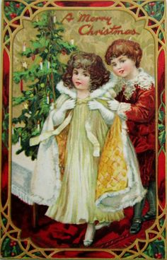 postcardiva postcard blog: Tuck CHRISTMAS Postcard Series #512