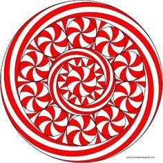 Peppermint Mandala