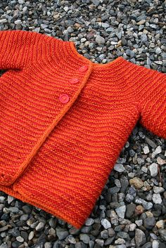 Little orange cardigan