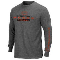 Chicago Bears Best Team Standing Long Sleeve T-Shirt - Charcoal