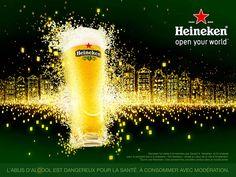 Heineken Open Your World Beer Advertising Campaign Pop Design, Graphic Design, Game Concept Art, Advertising Design, Advertising Campaign, Packaging Design, Poster, World, Winnie