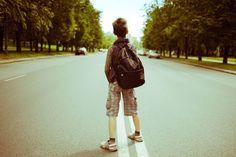 Schulweg: Kinder schaffen den Schulweg alleine