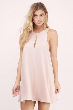 Winslet Keyhole Swing Dress at Tobi.com #shoptobi
