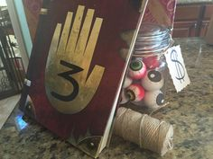 Party idea. Eye balls and journal 3 at the mystery shack. Gravity Falls