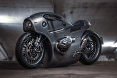 Zillers Garage redesigned the new BMW motorcycle that has a bold post-apocalyptic design that is ideal for lovers of Steampunk style! Custom Motorcycles, Custom Bikes, Cars And Motorcycles, Vintage Motorcycles, Indian Motorcycles, Standard Motorcycles, Custom Harleys, Super Bikes, Ford Gt