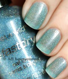Wet 'n' Wild Fast Dry - Blue Wants to be a Millionaire    #wetnwild #blue