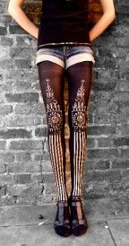 Big Ben tights by Candy Baker