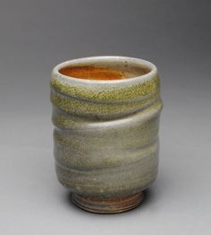 Tumbler Wine Cup Soda Fired L33 by JohnMcCoyPottery on Etsy. www.JohnMcCoyPottery.etsy.com