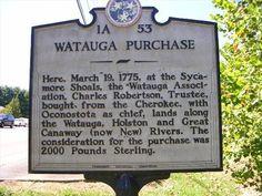 Oconostota,Chief | WATAUGA PURCHASE ~ 1A 53 - Tennessee Historical Markers on Waymarking ...