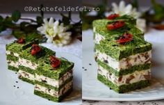 Breakfast Appetizers, Finger Food Appetizers, Appetizers For Party, Appetizer Recipes, Dessert Recipes, Vegetable Cake, Good Food, Yummy Food, Romanian Food