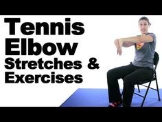 Tennis Elbow Stretches & Exercises - Ask Doctor Jo - YouTube