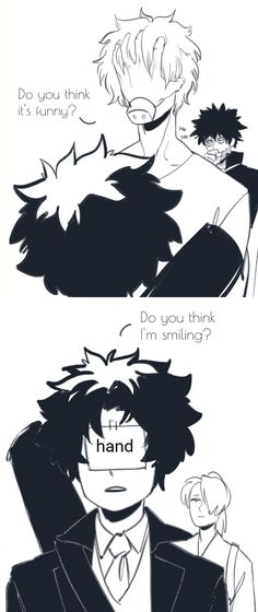 BNHA Villain Izuku and Shigaraki