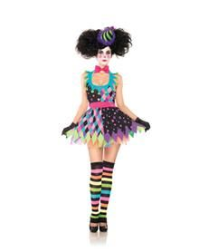 Sexy Scary Clown Adult Women's Costume