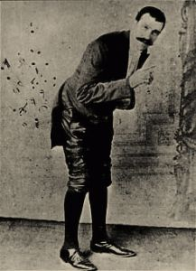 "Joseph Pujol, known as ""Le Petomane"", The Fartiste. Performed as The Flatulence Musician."