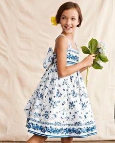 Porcelain Flower Dress by Helena & Harry - Garnet Hill